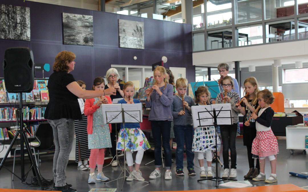 Succesvolle blokfluitconcertjes in Leusden en Woudenberg