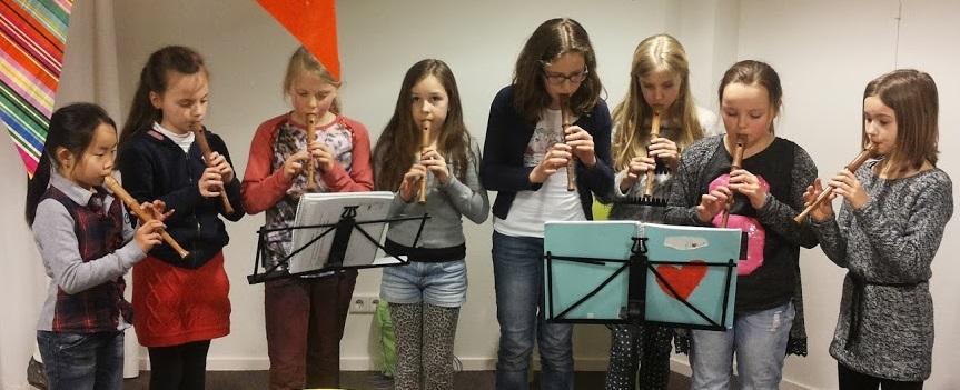 Kindermiddag Antares Leusden Spelenderwijs Blokfluit