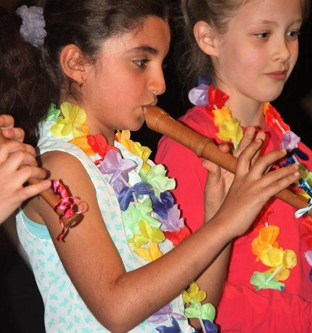 """Gratis Proefles """"Spelenderwijs Blokfluit """" (vanaf 6 jaar)"""