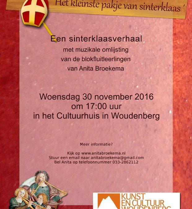 Een muzikaal Sinterklaasverhaal